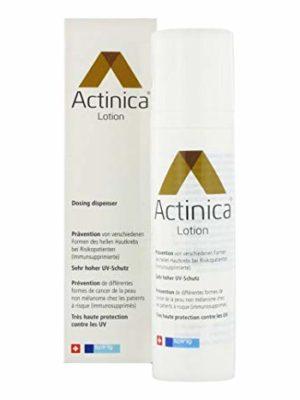 Avec Daylong Actinica Lotion en revanche, on peut assurer une protection optimale à sa peau. Selon les phototypes, on est en effet plus ou moins exposés à ce type de risque, et le fait d'utiliser Daylong Actinica Lotion peut être un moyen intéressant de se protéger, durant l'été, mais aussi tout au long de l'année bien sûr.