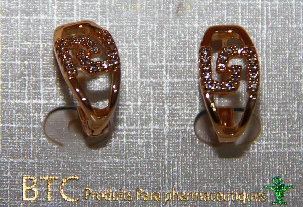 BTC boucles d'oreilles 003