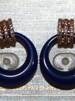BTC boucles d'oreilles