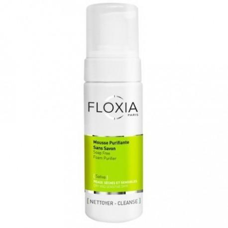 FLOXIA Mousse Purifiante Sans Savon 150 ml
