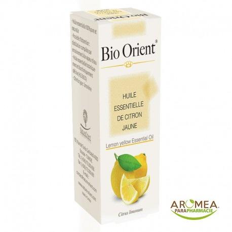 Bio Orient Huile Essentielle de Citron Jaune