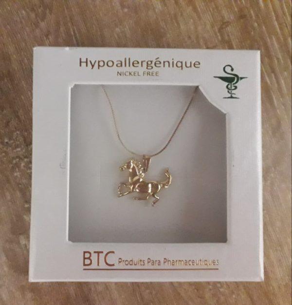 BTC collier hypoallergénique 002