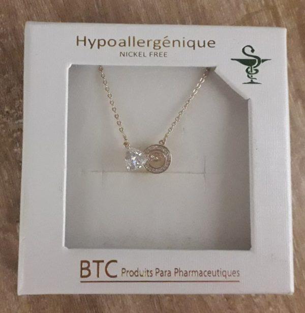 BTC collier hypoallergénique 001