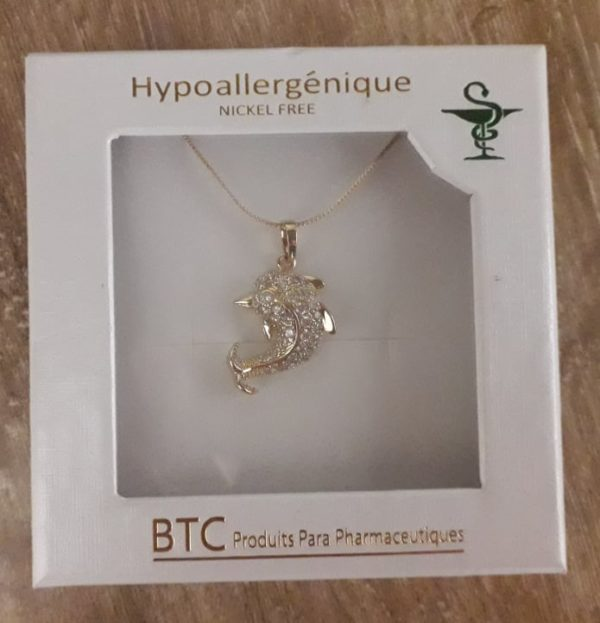BTC collier hypoallergénique