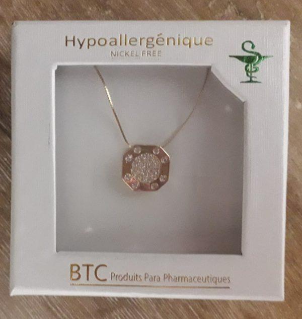 BTC Collier Hypoallergénique -