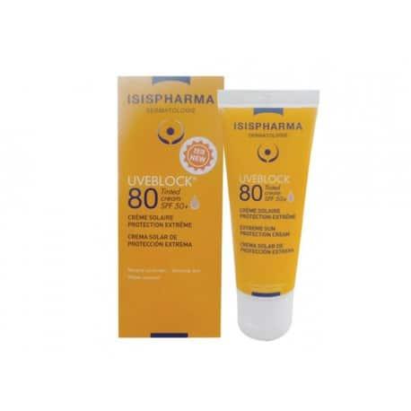 UVEBLOCK SPF 80 teinté Cream, 40 ml