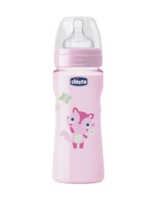 CHICCO Biberon ROSE 330ml