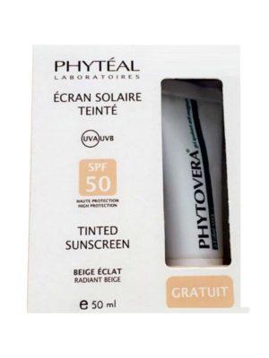 PHYTEAL ECRAN TEINTE BEIGE ÉCLAT SPF 50, 50 ml