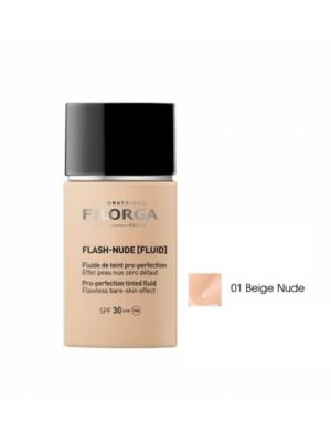 FILORGA FLASH-NUDE FLUID TEINT PRO PERFECTION SPF30 (01 BEIGE) 30ML