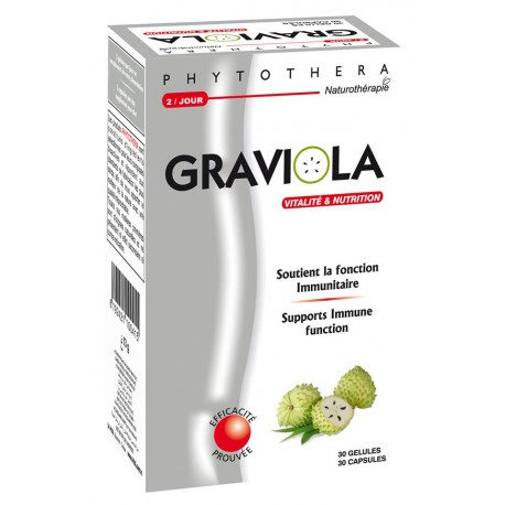 PHYTOTHERA Graviola, 30 gélules
