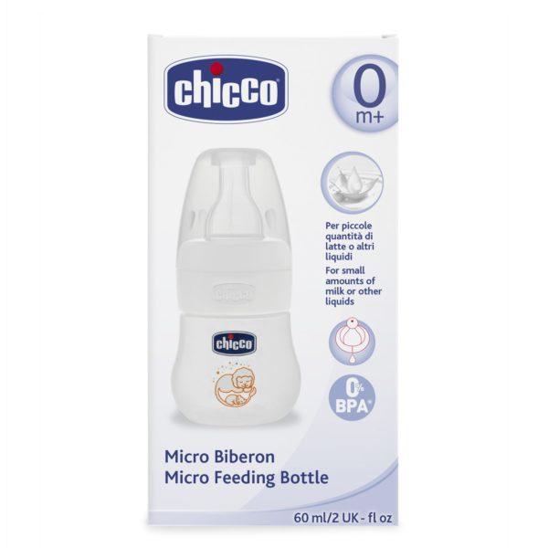 CHICCO MICRO BIBERON 60ml