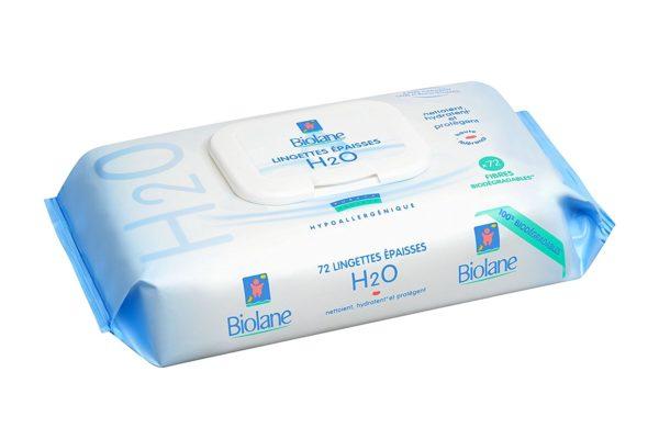 Biolane Lingettes au lait de toilette