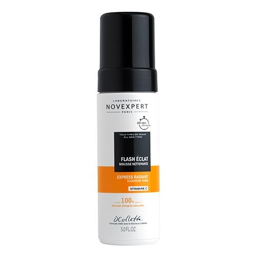 mousse-nettoyante peau neuve avec unéclat étonnant grâce à une action micro-peeling ultra douce.