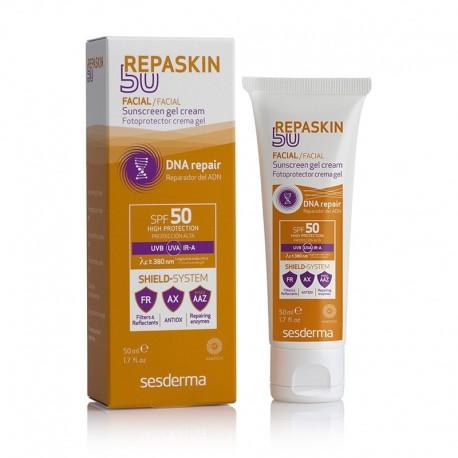 SESDERMA Repaskin SPF 50+ cela nous permet un Photo protecteur maximal, étant donné que pénètrent à des niveaux profonds de la peau,