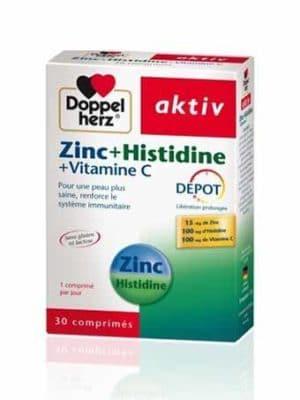 ZINC, HISTIDINE, VITAMINE C,