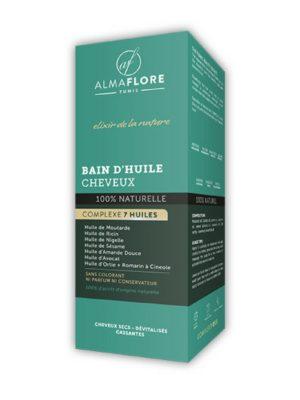 ALMAFLORE BAIN HUILE POUR CHEVEUX 100 ML