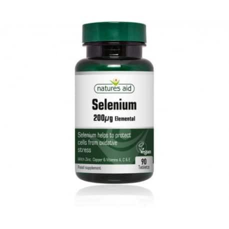 natures aid selenium