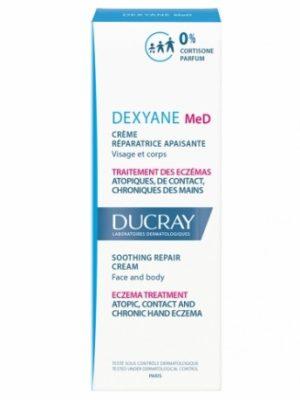 Ducray Dexyane MeD Crème Réparatrice Apaisante 100 ml est un traitement des eczémas atopiques, de contact et chroniques des mains, du visage et du corps.