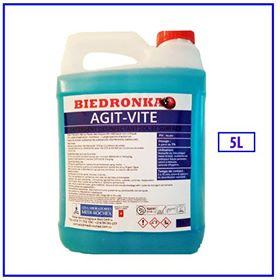 AGIT-VITE BIEDRONIKA 5 L bactéricide, fongicide et virucide. Désinfectant sol et surface Formulation concentrée Dosage a partir de 1%
