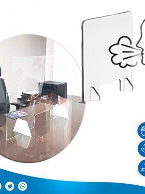 écrans vitres pour la protection antivirus pratique et facile. pour bureau comptoir magasin caisse …transparent .