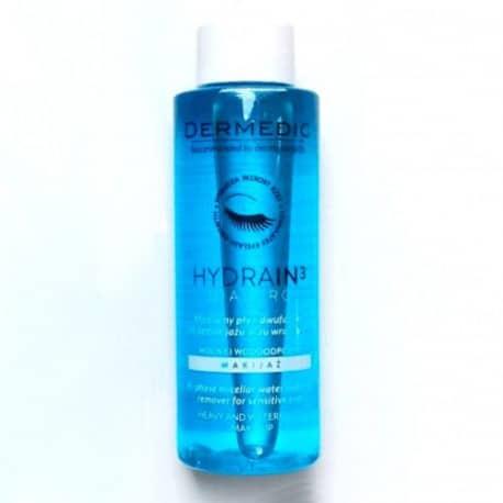 Élimine même le maquillage waterproof, sans sensation de peau sèche ou contractée. Stimule la croissance des cils, les renforce et les protège.