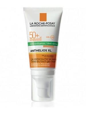 La Roche-Posay Anthelios XL Gel-Crème Toucher Sec SPF 50+ 50 ml pour le visage a été spécialement conçu pour la peau sensible ou sujette aux intolérances solaires, communément appelées allergies solaires.