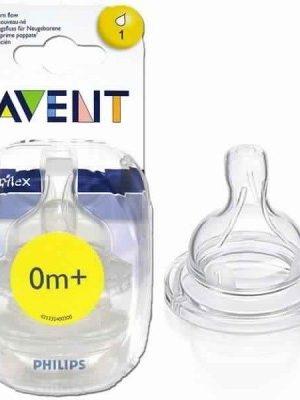 AVENT Tétine à débit variable 0M+ (2 pièces)
