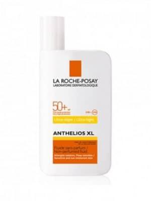 Assurez-vous une teinte dorée sublime avec la formule Anthelios Fluide ultra-léger de La Roche Posay. Grâce à son indice élevé SPF50+, vous pourrez profiter au maximum de vos séances de bronzage sans craindre d'agresser votre peau.