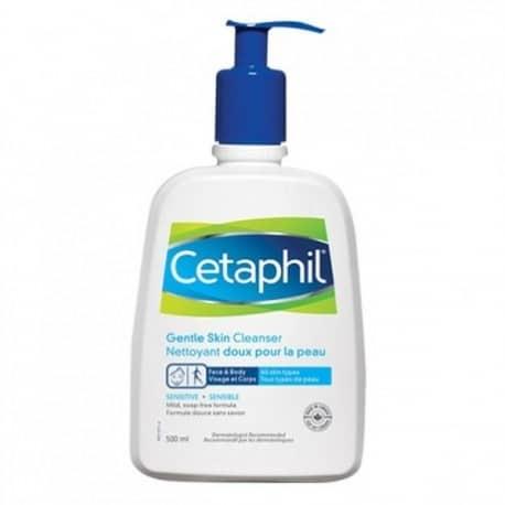 La lotion nettoyante haute tolérance Cetaphil est un soin quotidien des peaux sèches et sensibles sans savon, sans parfum et non comédogène.