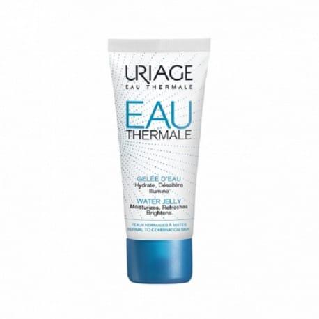 Uriage Eau Thermale Gelée d'Eau 40 ml est un soin hydratant et désaltérant spécialement formulé pour les peaux normales à mixtes.