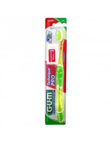 GUM brosse à dents TECHNIQUE PRO SOFT (525)