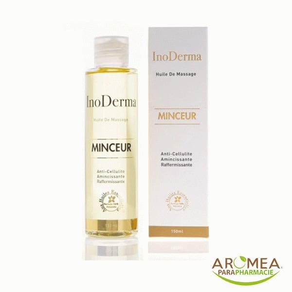 InoDerma Minceur est un complexe d'Huiles Essentielles et Végétales ayant une action amincissante, drainante, raffermissante et anti-cellulite.