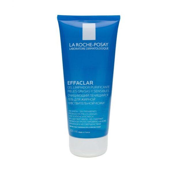 Effaclar Gel Moussant Purifiant nettoie en douceur les peaux grasses à imperfections et/ou irritées par les traitements.