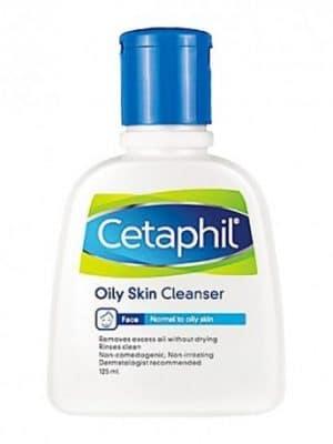 Cetaphil oily skin cleanser est un nettoyant destiné aux peaux mixtes à grasses et convient aux peaux sensibles.