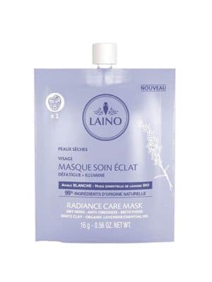 LAINO Masque Soin Éclat 16g