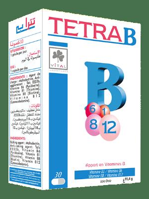 Vitamine B1, B6, B8, B12