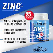Aleolig ZINC 25mg