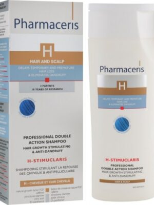 Pharmaceris H Stimuclaris shampoing doubla action anti chute anti pelliculaire 250 ml shampoing stimulant la repousse des cheveux et anti- pelliculaire 31.900 DT