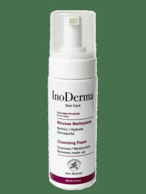 inoderma mousse nettoyante