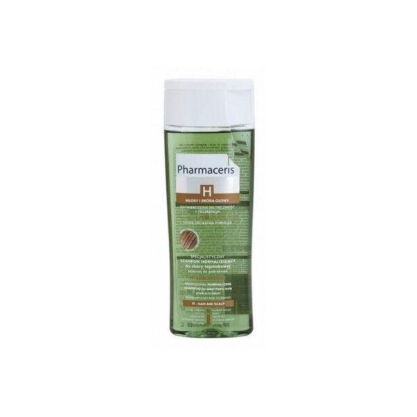 PHARMACERIS SHAMPOOING H-SEBOPURIN CHEVEUX GRAS a 25 dt ttc chez aromea.shop