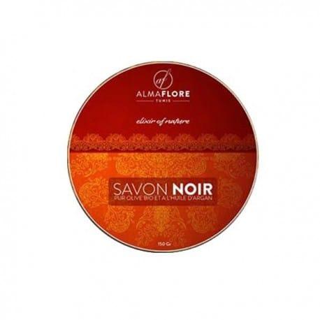 almaflore-savon-noir-olive-bio-et-huile-d-argan-150gr