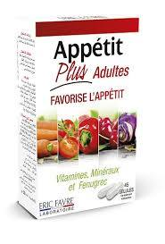 appétit plus adulte